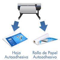 Inkjet printable tacking paper
