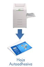 Laser printable tacking paper