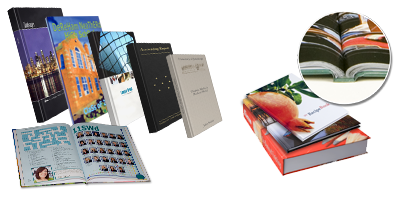 Personalized Perfect Binding Hard Cover Books
