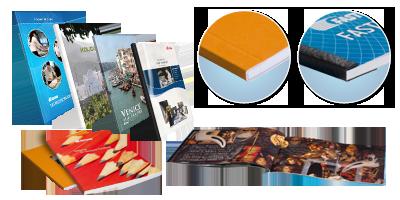 Examples de livres sous couvertures souples BooXTer