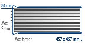 Размеры переплета FotoMount