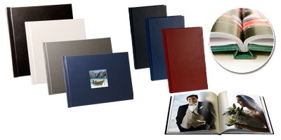 BooXTer Standard Hard Cover Book Samples