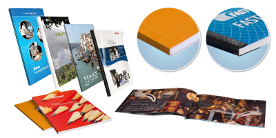 BooXTer Soft Cover Book Samples