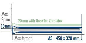 Fastbind BooXTer Binding Book Size Chart