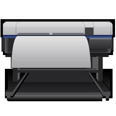 Струйный принтер для больших форматов