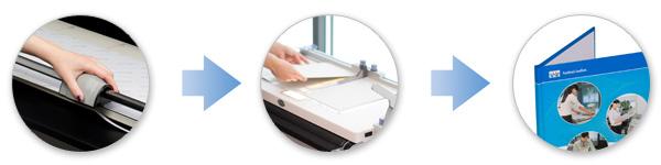 Preparing printed materials
