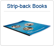 BooXTer Stripe-back Books