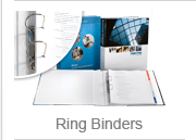 Customized ring binders