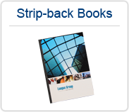 Perfect Binding Strip-back Books