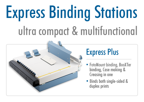Express Binding Stations: Ultra compact and multifunctional