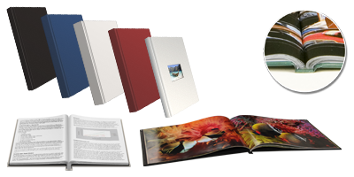 Perfect Binding Standard Hard Cover Books