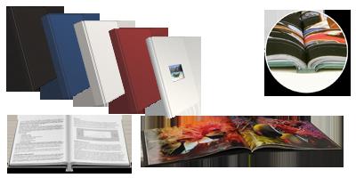 Perfect Binding Standard Hard Cover Books