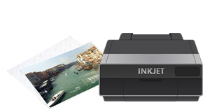 Desktop inkjet printer